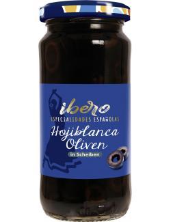 Ibero Spanische geschwärzte Oliven in Scheiben