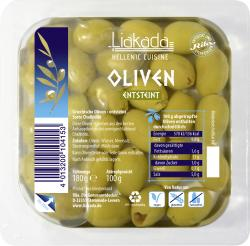 Liakada Oliven entsteint grün