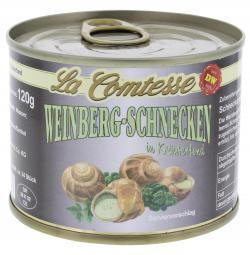La Comtesse Weinberg-Schnecken in Kräuterfond (120 g) - 4008314165732