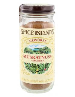 Spice Islands Muskatnuss gemahlen