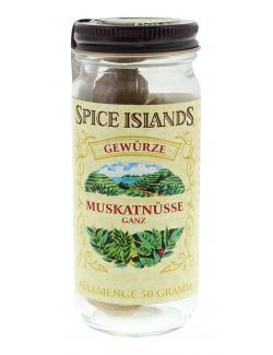 Spice Islands Muskatnüsse ganz