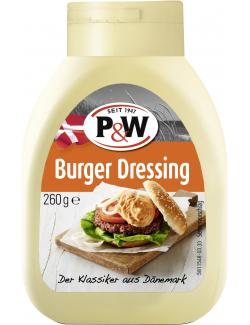 P&W Burger Dressing (255 ml) - 4001812008303