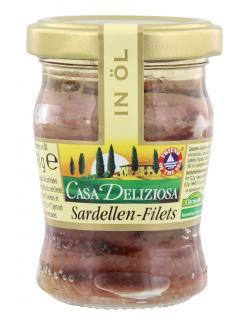 Casa Deliziosa Sardellenfilets in Öl (90 g) - 4002239270007