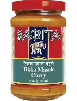Sabita Tikka Masala Curry würzig-scharf