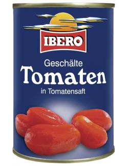 Ibero Tomaten in Tomatensaft geschält