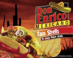 Don Enrico Mexicano Taco Shells (135 g) - 4013200780005
