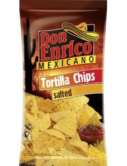 Don Enrico Mexicano Tortilla Chips gesalzen (175 g) - 4013200782016