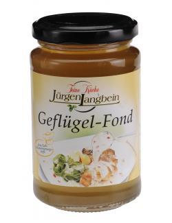 Jürgen Langbein Geflügel-Fond (200 ml) - 4007680105205