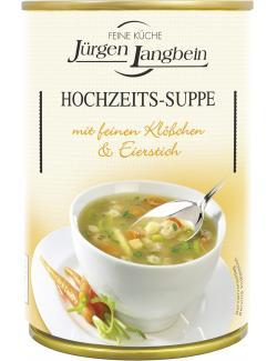 Jürgen Langbein Hochzeits-Suppe