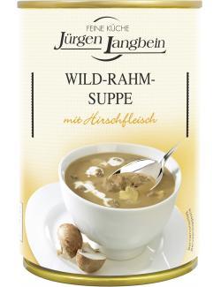 Jürgen Langbein Wild-Rahm-Suppe