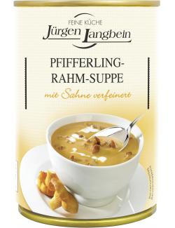 Jürgen Langbein Pfifferling Rahm-Suppe