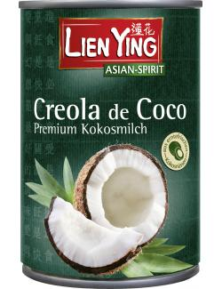Lien Ying Asian-Spirit Creola de Coco Premium Kokosmilch (400 ml) - 4013200883300