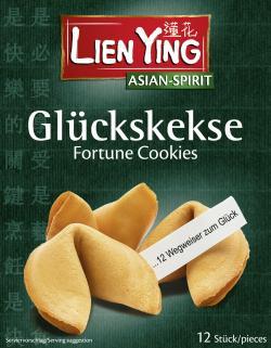 Lien Ying Glückskekse (80 g) - 4013200880767