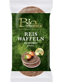 Rinatura Bio Daily Green Reiswaffeln Schoko