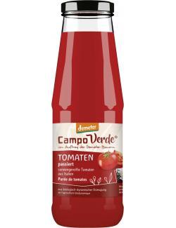 Campo Verde Demeter Tomaten passiert