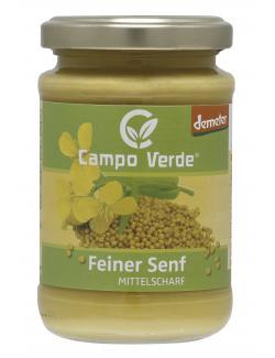 Campo Verde Demeter Feiner Senf mittelscharf