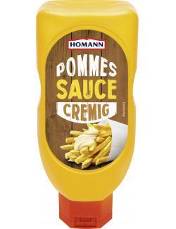 Homann Pommes Sauce cremig