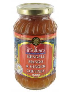 Truly indian Bengali Mango & Ginger Chutney (340 g) - 8901552015431