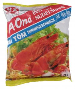 A-One Instant Nudelsuppe Shrimpgeschmack (85 g) - 8934684026761