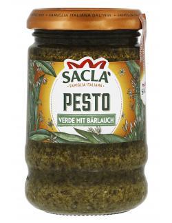 Sacla Pesto verde Bärlauch (190 g) - 8001060375635