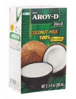 Aroy-D Kokosnussmilch (250 ml) - 8851613101378