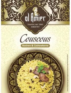 Al Amier Couscous mit Rosinen & Cashewkernen