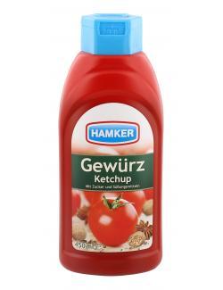Hamker Gewürz Ketchup (450 ml) - 4003035007200