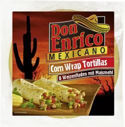 Don Enrico Corn Wrap Tortillas (320 g) - 4013200780234