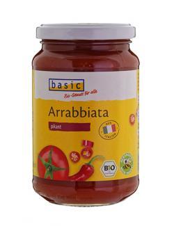 Basic Tomatensauce All'arrabbiata pikant (340 g) - 4032914520493