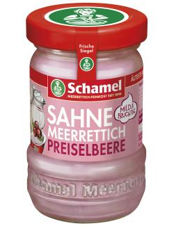 Schamel Preiselbeer-Sahne-Meerrettich (135 g) - 4000515007224