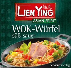 Lien Ying Asian-Spirit Wok-Würfel süß-sauer