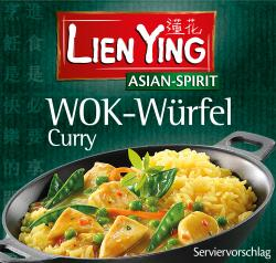 Lien Ying Asian-Spirit Wok-Würfel Curry