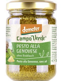 Demeter Campo Verde Bio Pesto alla Genovese (130 g) - 4045178003794