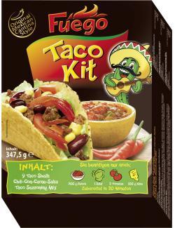 Fuego Taco Kit original mexican cantina style
