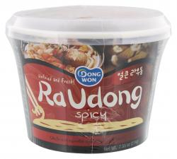 Dongwon Ra Udong Nudelsuppe Hot & Spicy (214 g) - 883298618924
