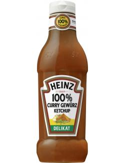Heinz 100% Curry Gewürz Ketchup delicat (590 ml) - 8715700419596