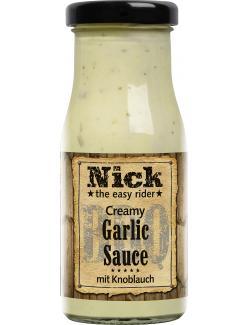 Nick BBQ Creamy Garlic Sauce mit Knoblauch