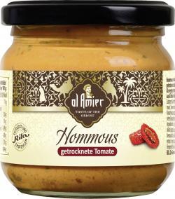 Al Amier Hommous mit getrockneten Tomaten