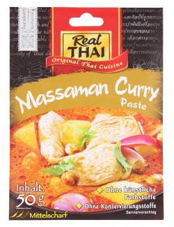 Real Thai Massaman Curry Paste (50 g) - 8858135001865