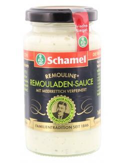 Schamel Remouladen-Sauce mit Meerrettich (140 ml) - 4000515003523