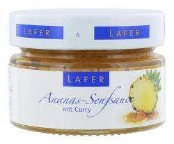 Johann Lafer Ananas-Senfsauce mit Curry (MHD 23.06.2018) (125 g) - 4260125364050