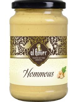 Al Amier Hommous Kichererbsencreme mit Sesam (350 g) - 4013200387747