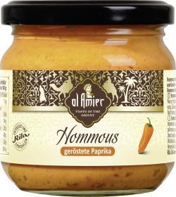 Al Amier Hommous mit gerösteter Paprika (180 g) - 4013200387952