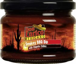 Don Enrico Mexicano Smokey BBQ Dip (250 g) - 4013200782535