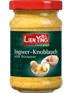 Lien Ying Asian-Spirit Knoblauch-Ingwer Paste mild (100 g) - 4013200882174