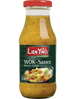 Lien Ying Wok-Sauce Ananas-Curry (240 ml) - 4013200882808