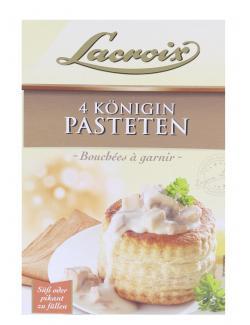 Lacroix Königin Pasteten