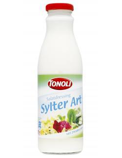 Tonoli Salatdressing Sylter Art mit Zwiebeln