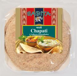 Sabita Chapati Vollkornfladen
