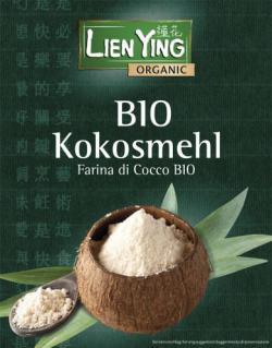 Lien Ying Organic Bio Kokosmehl MHD 21.09.18